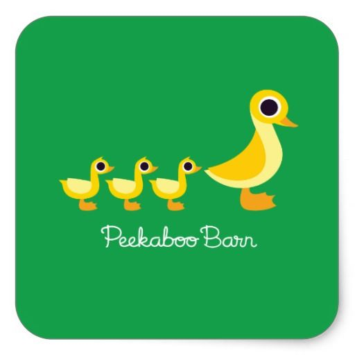 The Duck Family #sticker