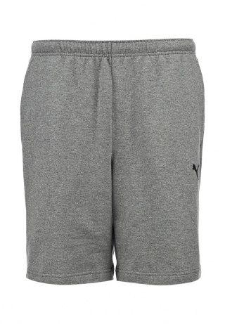 Шорты Puma выполнены из плотного материала серого цвета. Детали: прямой крой, эластичный пояс со шнурком, два кармана, логотип марки. http://j.mp/1rQfZ0Z