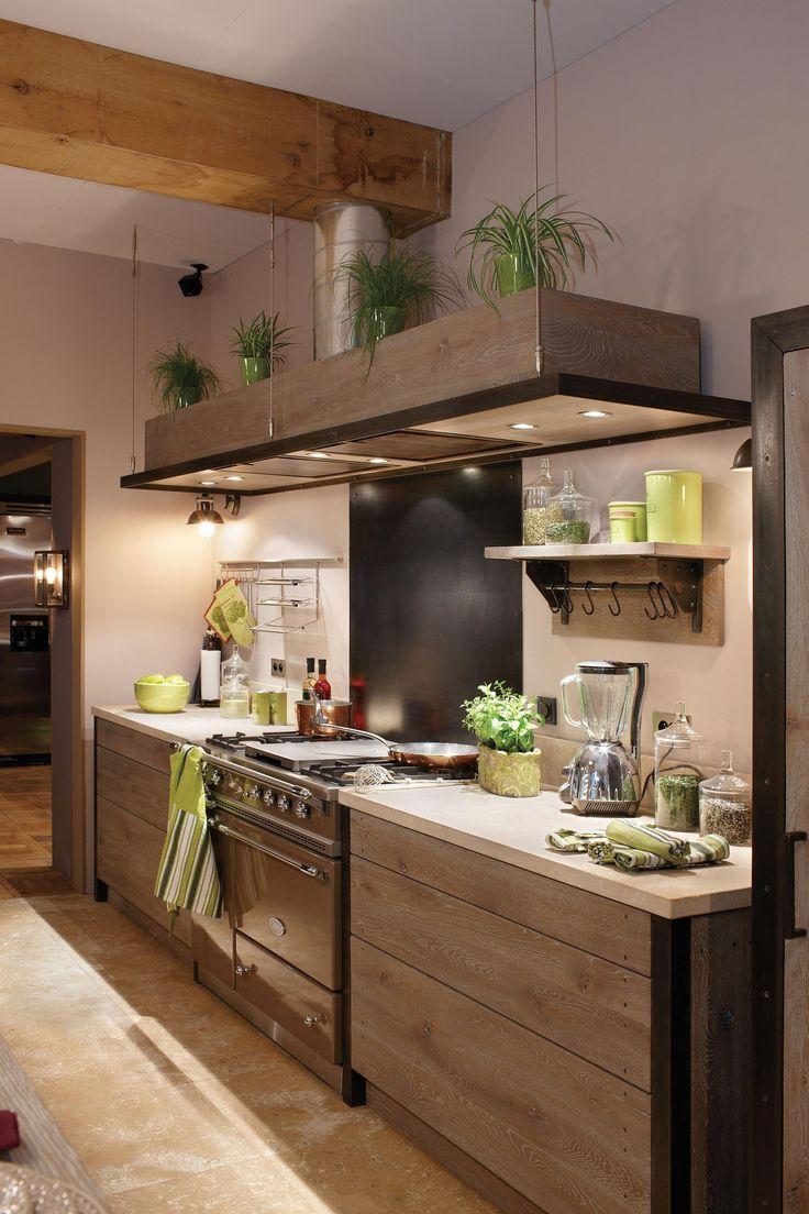 Xaviez vous pr sente la r alisation d 39 une cuisine en ch ne ambre et pierre de bourgogne for Cuisine xaviez