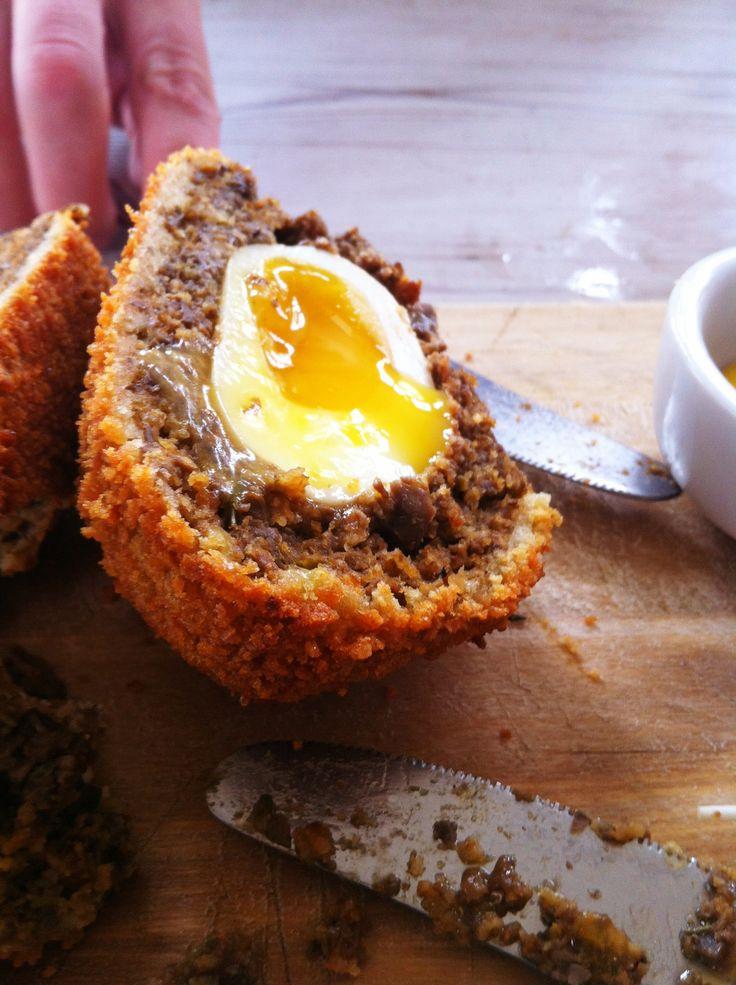 Vegetarian Scotch egg @ Ben's Canteen taken by The SW Food Blog