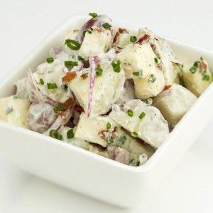Romige aardappelsalade   Lekker Tafelen