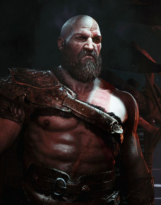 God of War. I can see the scar on his abdomen area. Almost healed which either means a lot of time has passed or he got someone to heal him using magic