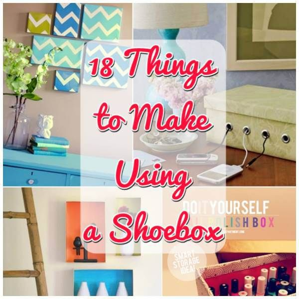 A regular old shoe box can made into something beautiful thanks to this post from The Tip Junkie!  Before you go tossing out that cardboard box, check out this post and see if anything would fit in…