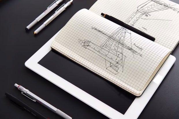 Rotring lança caneta tecnológica e vai desafiar desenhistas