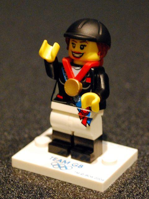 Olympic Lego equestrian