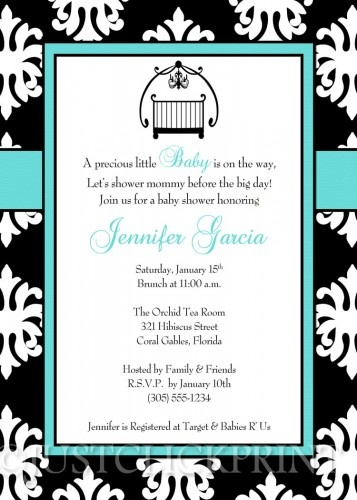 38 best baby shower invitations images on pinterest | baby shower, Baby shower invitations