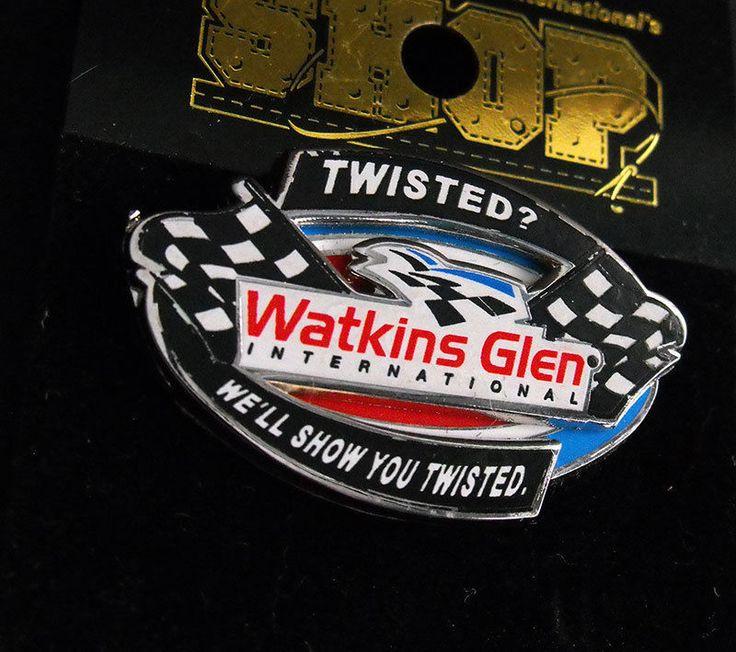 Watkins Glen International The Glen Pinback Indy NASCAR Racing Motor Sports Pin  | eBay