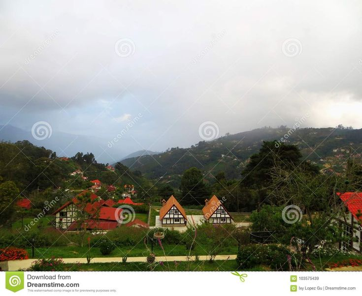 It's not Germany, it's Venezuela. This beautiful village is known as Colonia Tovar, perfecto destination for couples . #love #honeymoon #vacation #weekend #romantic  Download From Over 68 Million High Quality Stock Photos, Images, Vectors. Sign up for FREE today. Image: 103575439