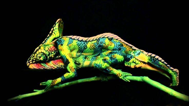 Johannes Stötter je umelec, ktorého plátnom je ľudské telo ... #art