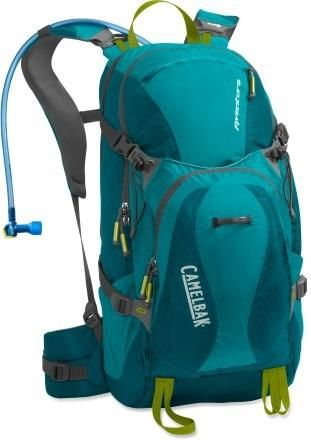 Water is your best friend on the trail. Keep plenty handy with the women's CamelBak Aventura Hydration Pack