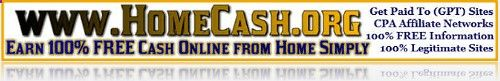 HomeCash.org  Learn How to Make PayPal Cash Online Simply and FREE!
