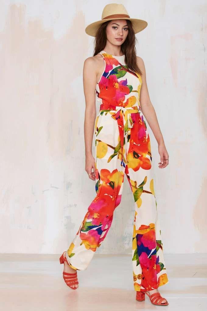 Yumi Kim Joyce Silk Jumpsuit - Rompers + Jumpsuits | Newly Added |  | Rompers + Jumpsuits