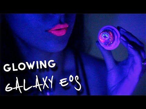 DIY Glow-in-the-Dark Galaxy EOS Lip Balm   SofiaStyled *:・゚ - YouTube