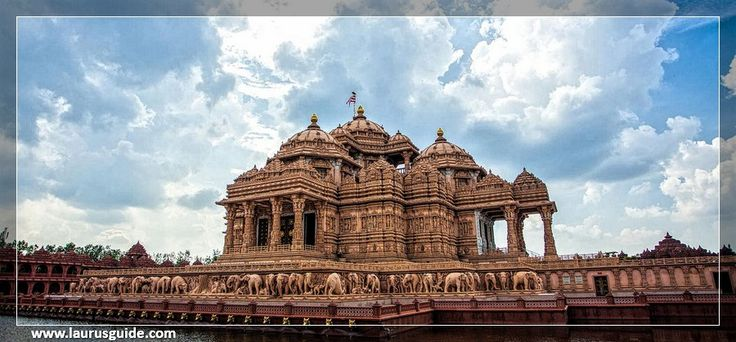 The Swaminarayan Akshardham complex was built in only five years through the blessings of HDH Pramukh Swami Maharaj of the Bochasanwasi Shri Akshar Purushottam Swaminarayan Sanstha (BAPS) and the colossal devotional efforts of 11,000 artisans and thousands of BAPS volunteers. Heralded by the Guinness World Record as the World's Largest Comprehensive Hindu Temple, the complex was inaugurated on 6 November, 2005.