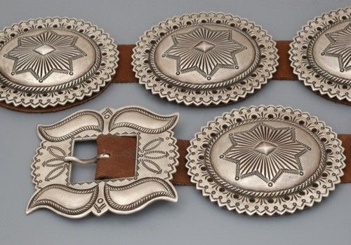 Perry Shorty Concho Belt
