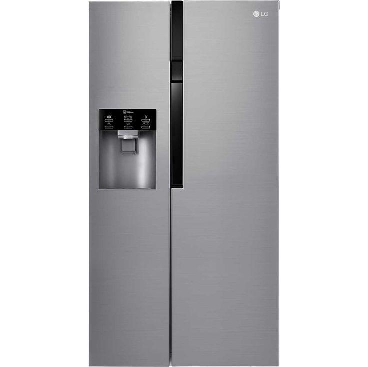 lg gsl561pzuz american fridge freezer stainless steel
