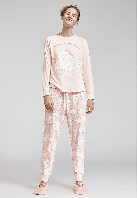 Kleding OYSHO Pyjamabroek - rose Rosa: € 22,99 Bij Zalando (op 1/10/17). Gratis verzending & retournering, geen minimum bestelwaarde en 100 dagen retourrecht!