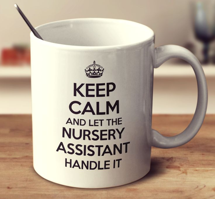 Keep Calm And Let The Nursery Assistant Handle It