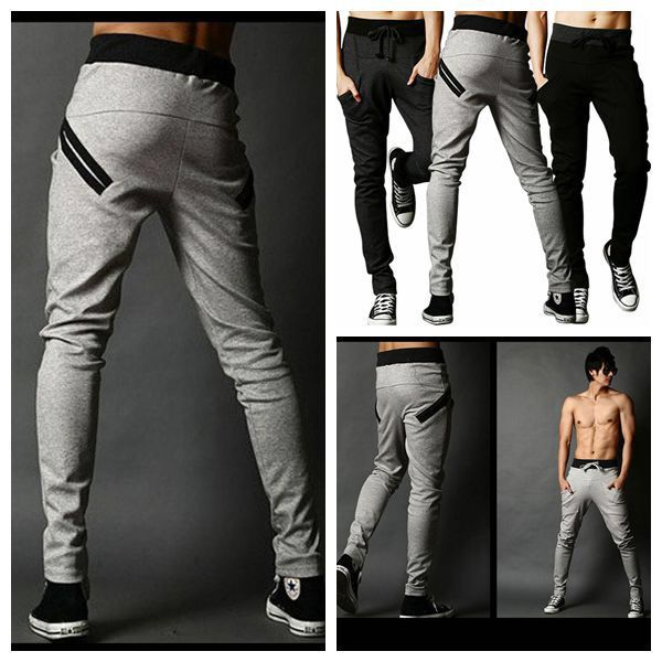 dd0eed73 US $13.99 |Harem Pants Men New Style: Fashion Casual Classic Slim Fit  Skinny Men Joggers Tracksuit Bottoms Sarouel Homme Men Jogger Pants-in Skinny  Pants ...