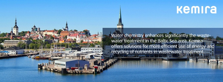 Water chemistry enhances significantly the wastewater treatment in the Baltic Sea area. Kemira offers solutions for more efficient use of energy and recycling of nutrients in wastewater treatment.
