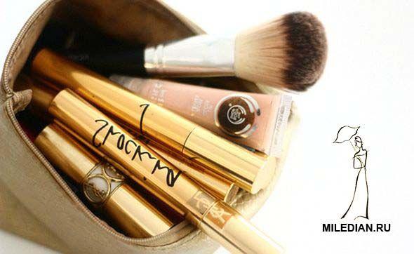 Инструменты для вечернего макияжа