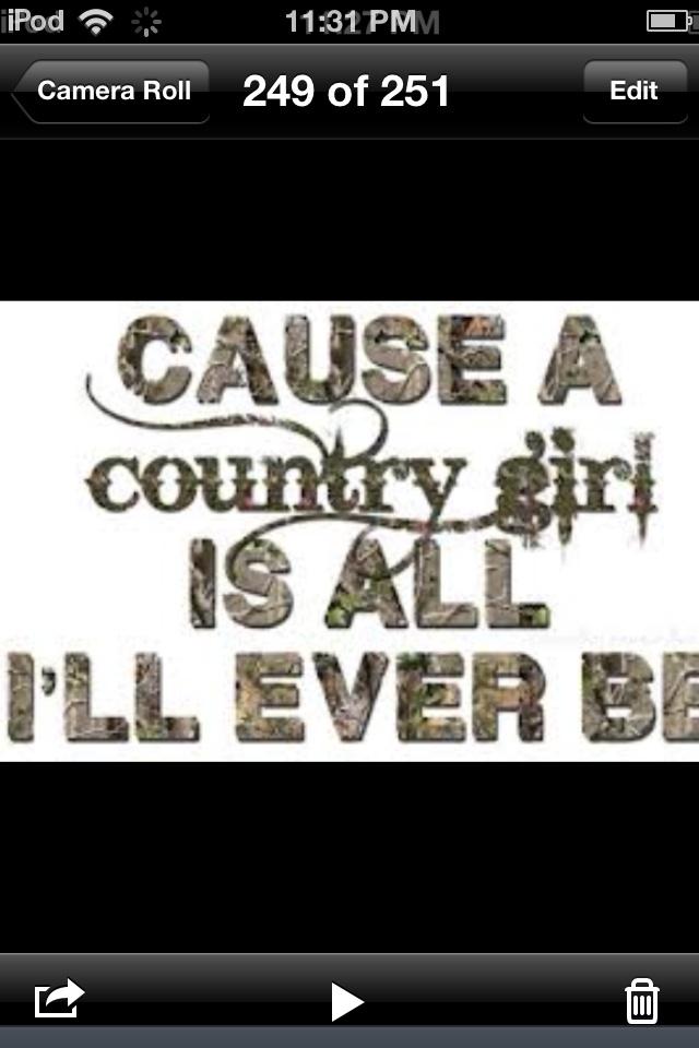 Country stuff<3 That's soooo me !!<3<<3!!
