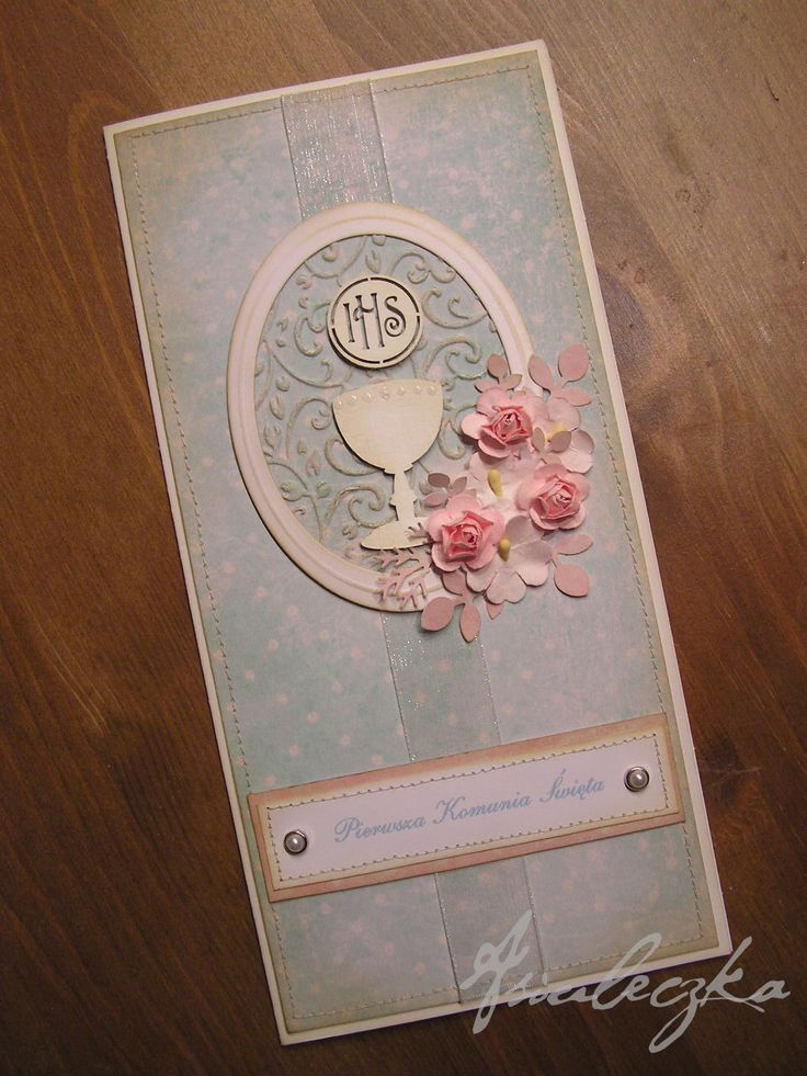 first communion wishes card - Scrapbook.com