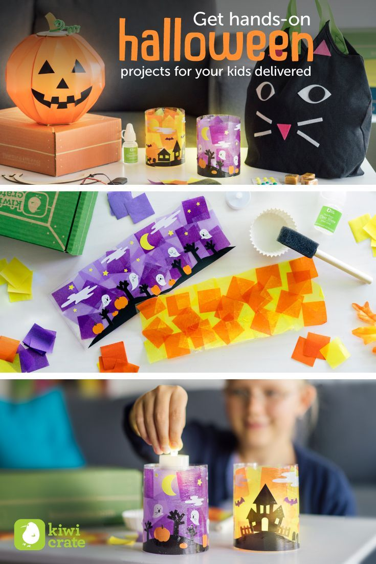Halloween classroom crafts - Make Your Own Halloween Candles Get Projects For Your Kids With All The Materials And Inspiration Delivered