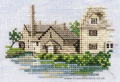 Lower Slaughter - Minuets - Cross Stitch Kit from Derwentwater Designs