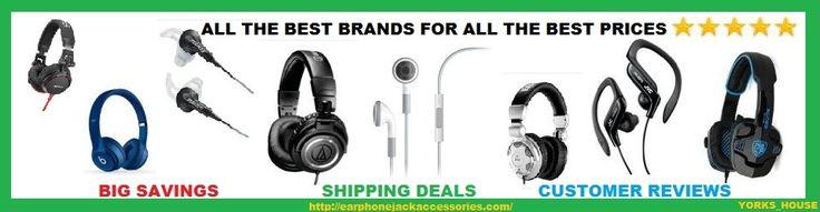 headphones vs. earphones http://earphonejackaccessories.com/