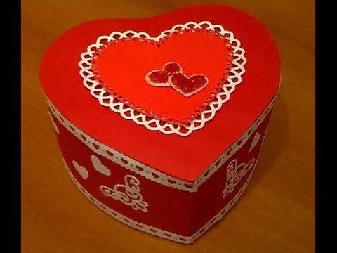 Scatolina per San Valentino tutorial  -  Valentine's day box tutorial