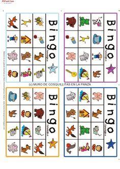 La utlización del bingo sirve para asociar las palabras escritas que van apareciendo con la imagen. Es una forma lúdica de fomentar el desarrollo de la conciencia fonológica, estableciendo relaciones entre sonidos y letras.