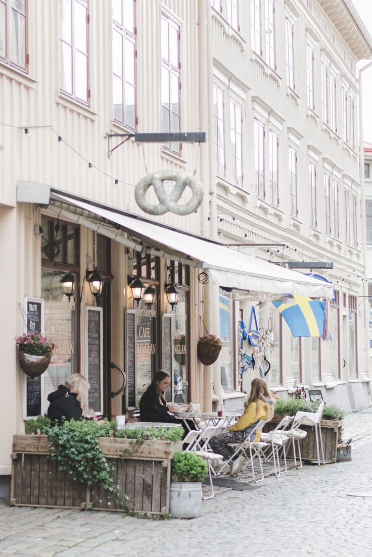 Swedish Bakery on Haga Nygata in Gothenburg, Sweden