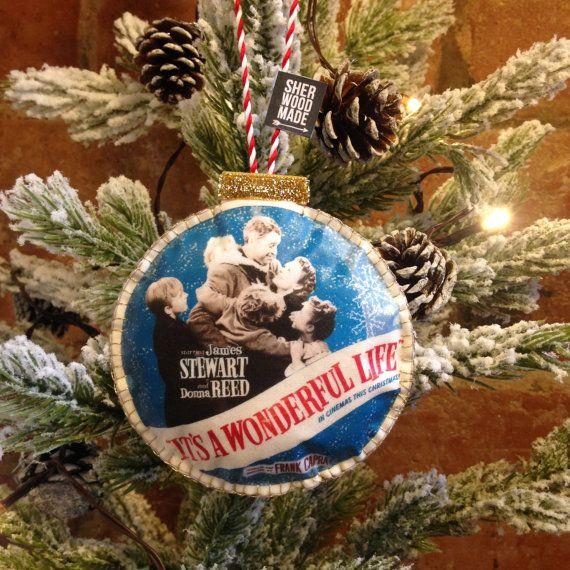 It's a Wonderful Life Christmas Tree Decoration by SHERWOODMADEUK