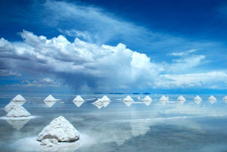Salar de Uyuni Salt Flats, Bolivia
