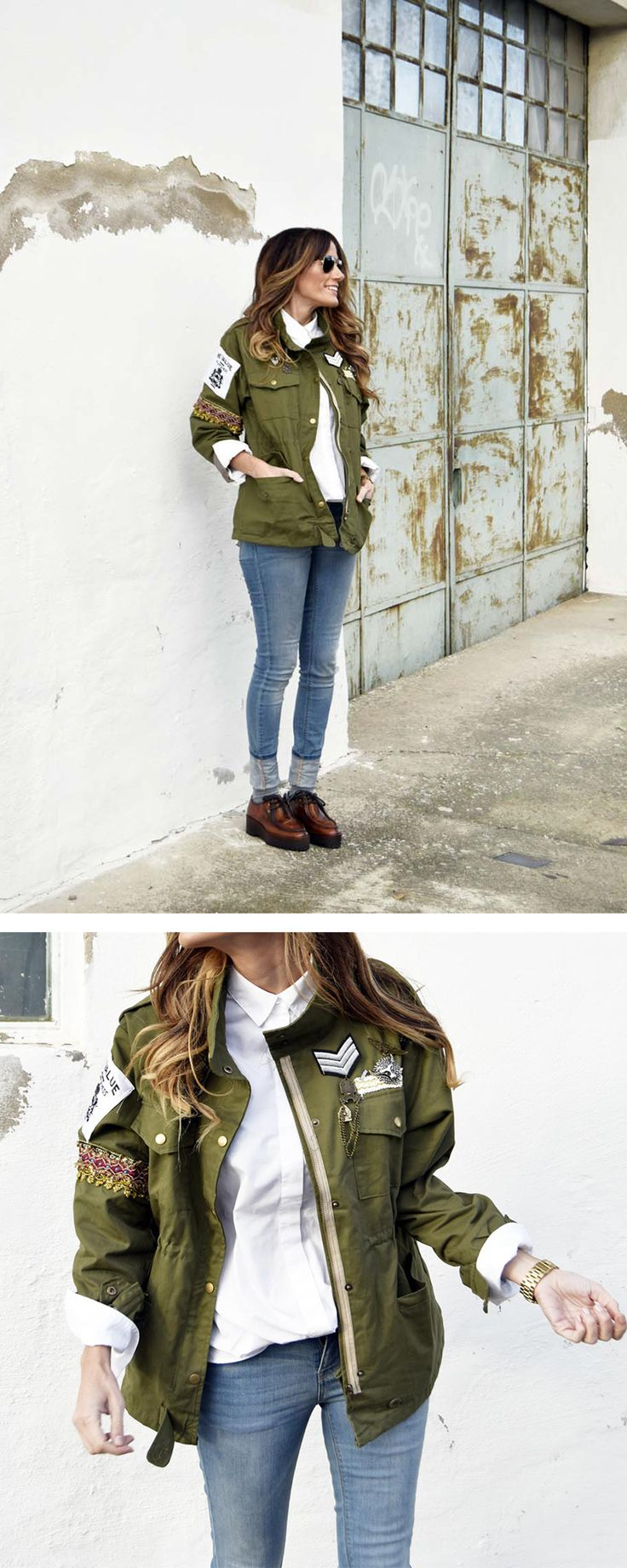 Street Style Embellished Coats | See how you can get the same look for less with this amazing DIY by SheIn.
