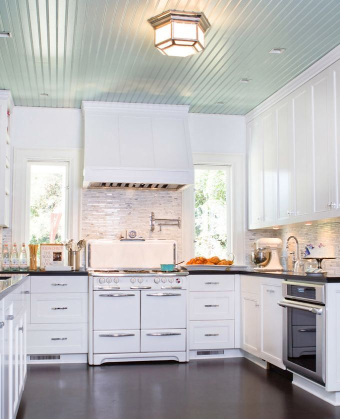 What Color Should A Kitchen Ceiling Be Painted