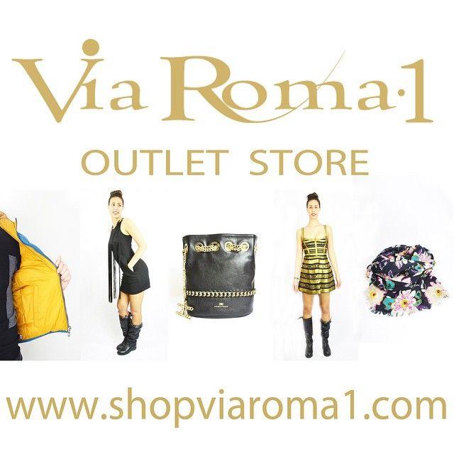 OUTLET APERTO scoprite tutte le occasioni a metà prezzo su www.shopviaroma1.com