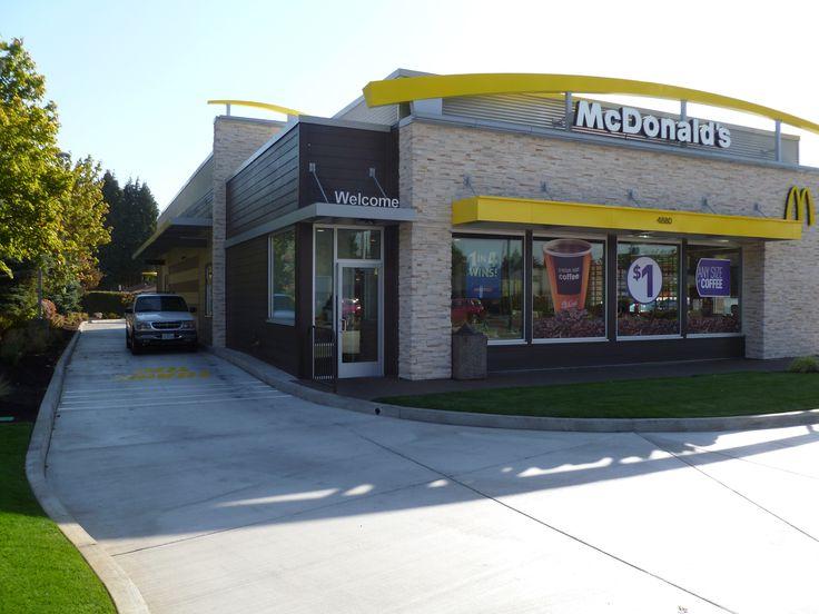 216 best images about fast food restaurant on pinterest for Mcdonalds exterior design