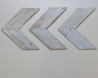 Chevron Wood Arrows Home Decor by NorthWOODWORX on Etsy