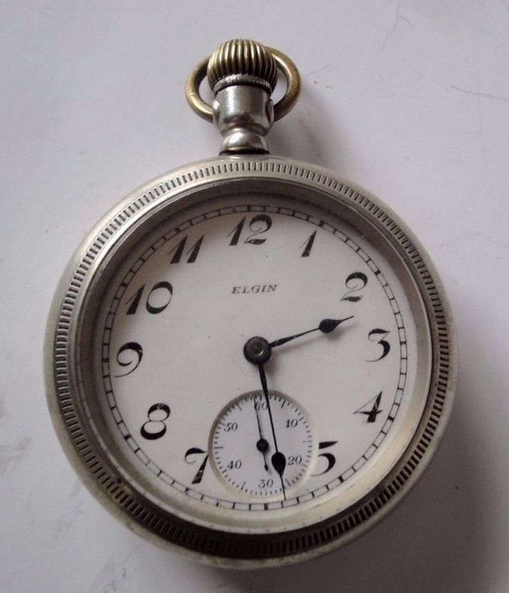 Elgin 15 Jewel Pocket Watch Eighteen Size  #Elgin
