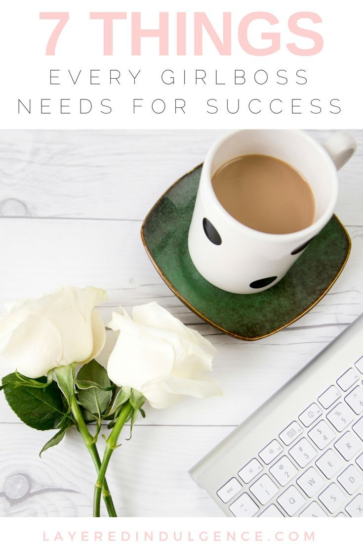 Do you aspire to lead a girl boss lifestyle? Female entrepreneurship is a goal for many, but it takes a lot of perseverance and motivation to get things done! I've rounded up my best tips and advice for a post on 7 things every girl boss needs to be succe
