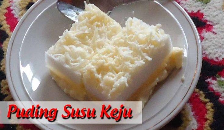 Resep Puding Susu Keju yang Enak dan Lembut