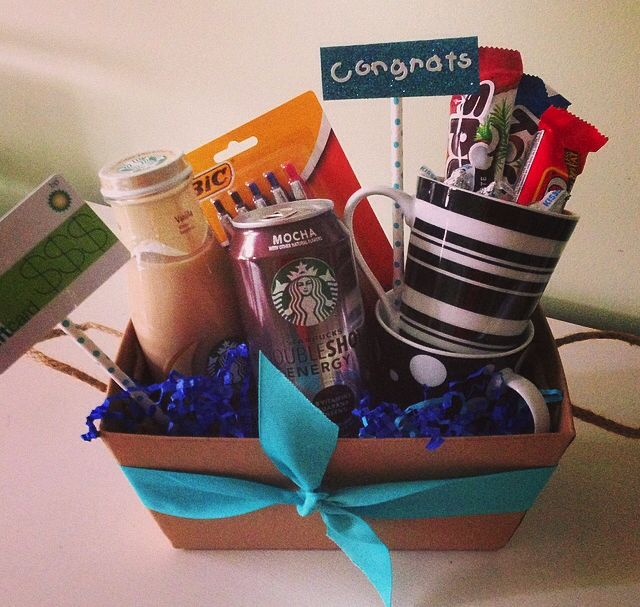 Congrats On The New Job Gift Basket Fun Gift Ideas New