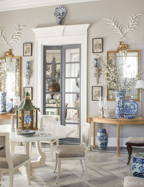 Blue and White in Veranda http://markdsikes.com/2014/02/10/blue-and-white-invites/