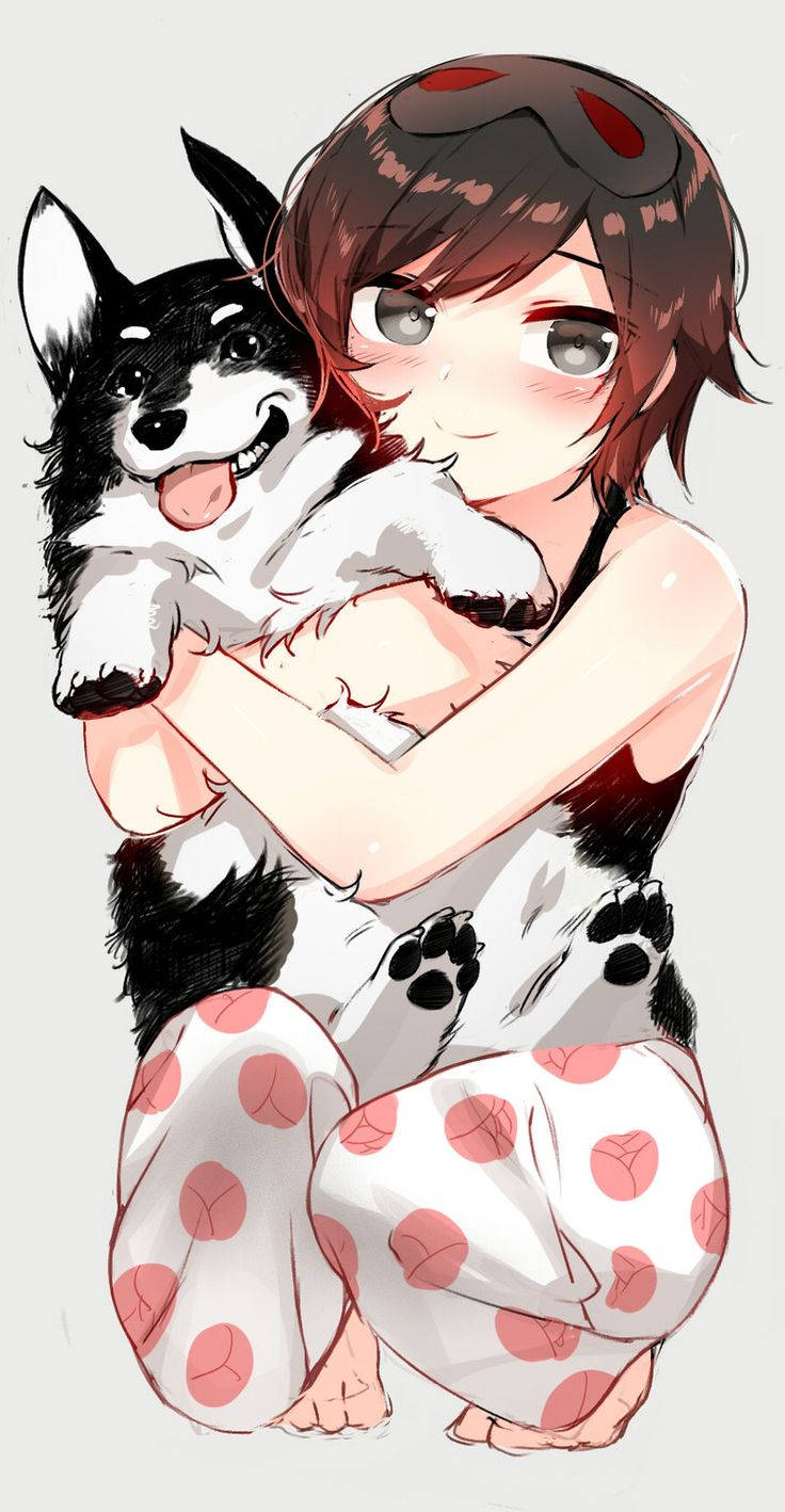 Ruby and Zwei by NDGD on DeviantArt