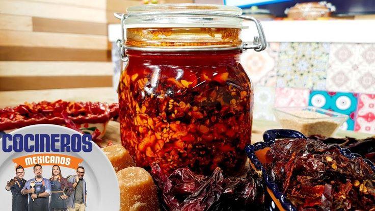 Receta: Salsa macha | Cocineros Mexicanos
