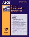 Journal of Transportation Engineering  Chris T. Hendrickson, Ph.D., Hon.M.ASCE,  Carnegie Mellon University  January/February 1983 – Present  ISSN: 0733-947X  Frequency: Monthly
