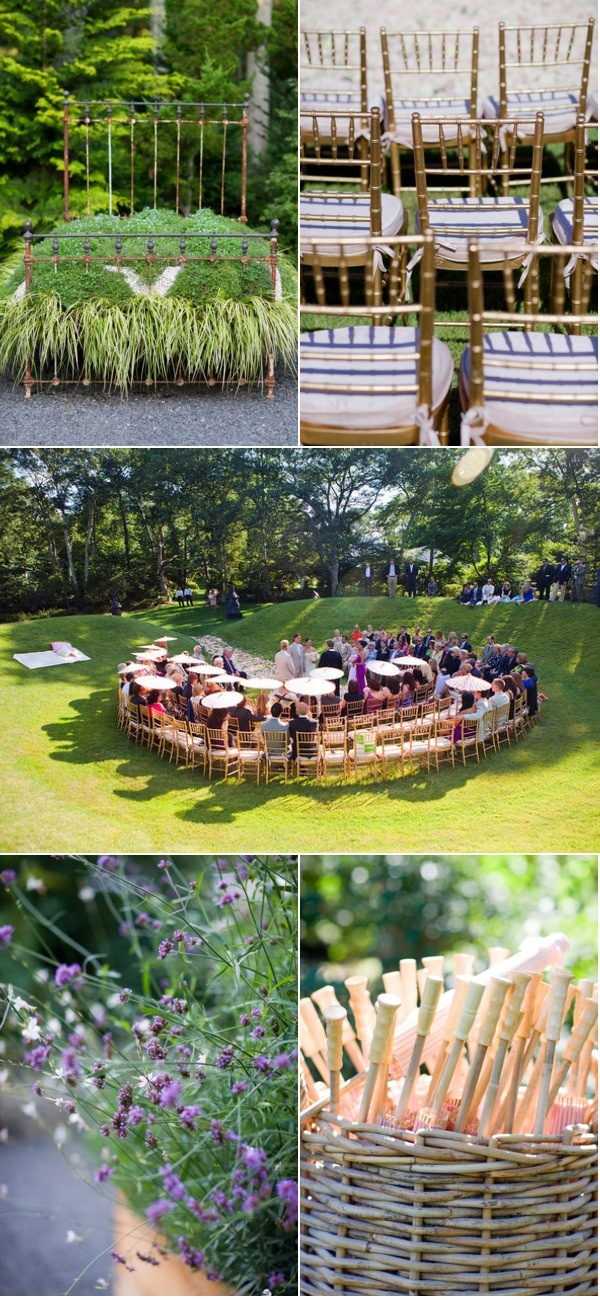 I may just have to have the seating like this for our wedding.