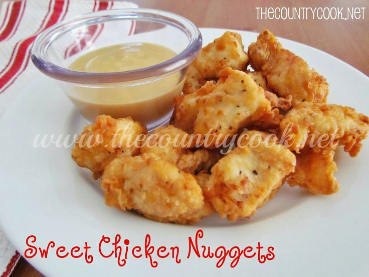 The Country Cook: Sweet Chicken Nuggets